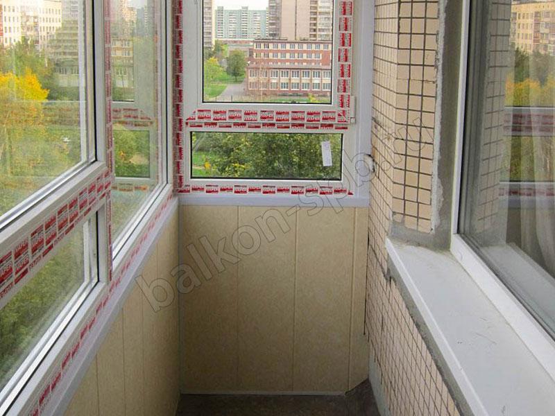 Окна с нижней фрамугой
