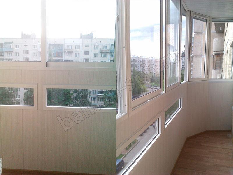 Остекление балкона 137 серии