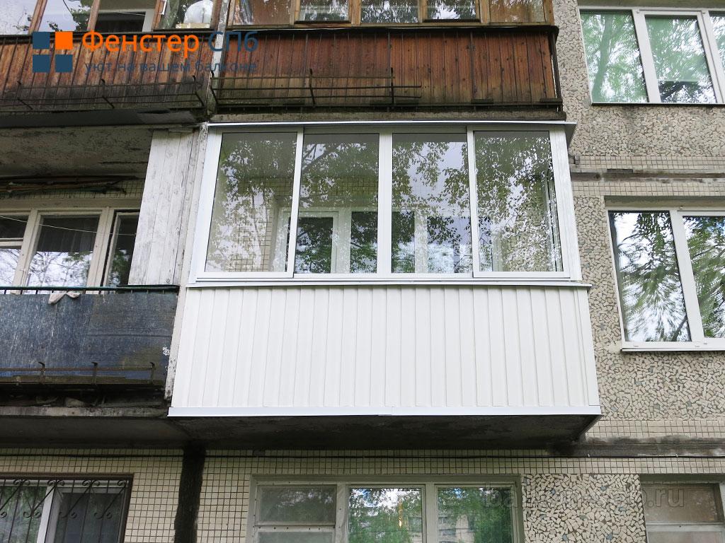 Раздвижные окна с уличной стороны